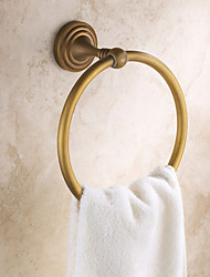 cheap -Towel Bar Antique Brass 1 pc - Hotel bath towel ring
