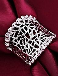 preiswerte -Damen Statement-Ring Personalisiert Klassisch Sterling Silber Modeschmuck Hochzeit Party Alltag Normal
