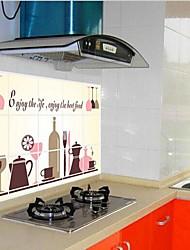 Недорогие -кухня анти-нефть наклейка / окружающей среды наклейка ПВХ
