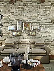 Недорогие -геометрический Обои Для дома Современный Облицовка стен , ПВХ/винил материал Клей требуется обои , Обои для дома