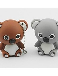 cheap -16GB usb flash drive usb disk USB 2.0 Plastic Cartoon Compact Size Koala bear