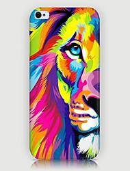 iphone 7 mais padrão de leão colorido caso de volta para o iPhone5 / 5s
