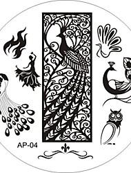abordables -Dedo/Dedo del Pie/Otros - Abstracto Metal - 1 - 6x6 - (cm)