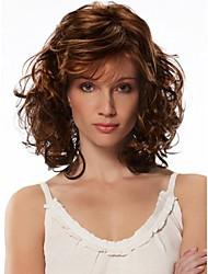 cheap -Women Synthetic Multi-color Wig Wavy Medium Synthetic Hair Wig