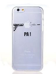 Per iPhone 8 iPhone 8 Plus iPhone 7 iPhone 7 Plus iPhone 6 iPhone 6 Plus Custodie cover Ultra sottile Transparente Fantasia/disegno
