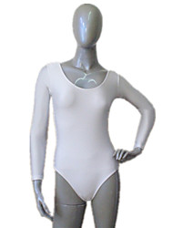 cheap -Shiny Nylon/Lycra Long Sleeve Leotard More Colors  for Girls and Ladies