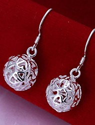 Women's Drop Earrings Costume Jewelry Sterling Silver Jewelry For Wedding Party Daily Casual