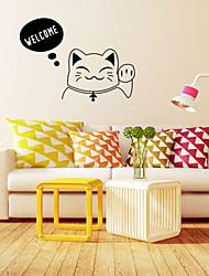 zidne naljepnice zidne naljepnice, stil dobrodošli engleskih riječi PVC zidne naljepnice