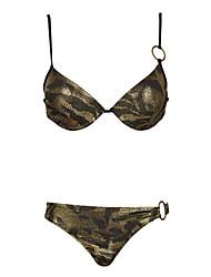 Bikini/Due Pezzi - Nuoto - Per donna - Impermeabile/Traspirante/Materiali leggeri - Dorato scuro