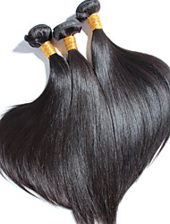 cheap -3 pcs/lot High Quality Brazilian Straight Hair, No Shedding, No Tangle 100% Unprocessed Virgin Human Hair