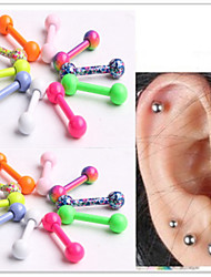 cheap -Ear Piercing Stainless Steel Unique Design, Fashion Women's Body Jewelry For Daily / Casual