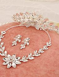 cheap -Rhinestone Alloy Headbands Flowers Head Chain 1 Wedding Special Occasion Birthday Party / Evening Headpiece