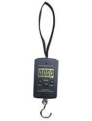Недорогие -40 кг 10 г мини-цифровой шкаф багаж путешествия подвесной крючок шкала ручной весы