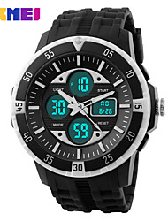 cheap -SKMEI® Men's Double Time Sporty Watch Calendar Chronograph Alarm Cool Watch Unique Watch Fashion Watch