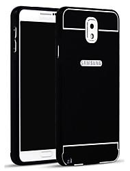 お買い得  -ケース 用途 Samsung Galaxy Samsung Galaxy Note バックカバー ソリッド アクリル のために Note 3