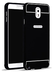billige -Etui Til Samsung Galaxy Samsung Galaxy Note Bakdeksel Ensfarget Akryl til Note 3