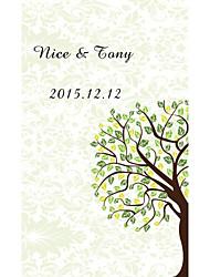 Недорогие -Плоские Свадебные приглашения Имя, надпись на заказ