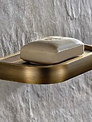 preiswerte -Seifenschale / Antikes Messing Antik