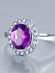 cheap -Ring - Stylish 5 / 6 / 7 Light Purple For Wedding / Party / Evening