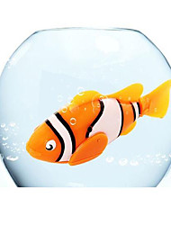 Недорогие -Robo рыба электрическая рыба животное игрушки / электронных домашних животных рыба (оранжевый)