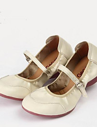 preiswerte -Damen Tanz-Turnschuh / Ballsaal Neopren Sneaker Schnalle Niedriger Heel Keine Maßfertigung möglich Tanzschuhe Weiß / Rot / Fuchsia