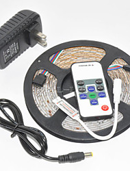 cheap -Z®ZDM Waterproof  5M 300X3528 SMD RGB LED Strip Light and 10Key RF Controller and 12V3A EU/US/UK Power Supply (AC110-240V)
