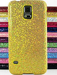abordables -Coque Pour Samsung Galaxy Samsung Galaxy Coque Relief Coque Brillant PC pour S5