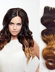 Cabelo Humano Ondulado Cabelo Brasileiro Onda de Corpo tece cabelo