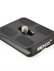 mengs® pu50 quick release plaat voor video camera dslr