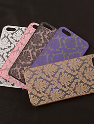 cheap -Case For iPhone 5 / Apple iPhone 5 Case Transparent / Pattern Back Cover Lace Printing Hard PC for iPhone SE / 5s / iPhone 5
