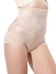 Недорогие -женская высокой талией послеродовой живот рисунок трусы штаны поднять бедра ухода за телом дышащие Формирование штаны