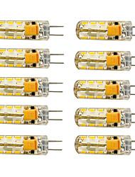 1.5W G4 LED a pannocchia T 24 SMD 3014 120 lm Bianco caldo Luce fredda 2800-3000/6000-6500 K AC 12 V