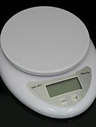 abordables -5kg 5000g / 1g cuisine régime alimentaire balance numérique postale balance électronique balances balance pondération led balance de cuisine électronique