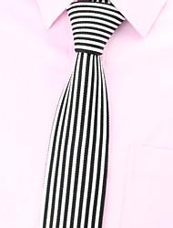 cheap -SKTEJOAN®Korean Fashion Simple Straight Stripe Knit Tie(Width:5CM)
