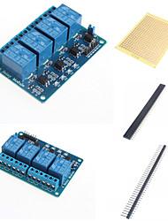 baratos -4 maneiras retransmitir módulo com optocoupler e acessórios
