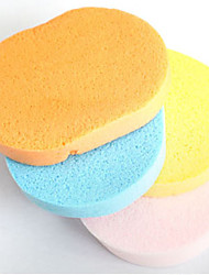 cheap -Soft Natural Sponge Face Cleansing Make-up Facial Washing Cosmetic