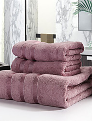cheap -Fresh Style Bath Towel Set, Embroidery Superior Quality 100% Cotton Knitted Towel