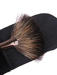 billige Pulverbørster-1pcs Makeup børster Profesjonell Vifte Børste Syntetisk hår Stor Børste