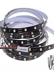 500cm 25W 300x3528SMD White / Cool White  Light LED Strip Lamp for Car + 11-Key RF Controller(DC 12V)