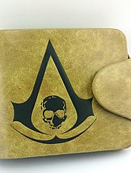 Bolsa / Carteiras Inspirado por Assassin's Creed Connor Anime/Games Acessórios de Cosplay Carteira Amarelo Masculino / Feminino