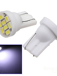 cheap -2x Car Ultra White 8-LED 3020 SMD T10 Bulb Wedge Side Light Bulb