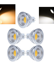cheap -5pcs 50-150lm LED Spotlight MR16 1 LED Beads COB Warm White / Cold White 220-240V / 5 pcs / RoHS / CCC