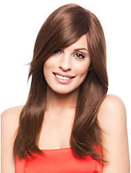 abordables -sin tapa de alta calidad a largo straightmono mejores pelucas de cabello humano 7 colores a elegir
