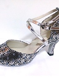 cheap -Shoes Women's Dance Shoes Sparkling Glitter Latin Salsa Shoe Customizable