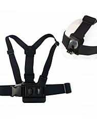 economico -Imbracatura Petto / Fascia per il petto Fissaggio Frontale Accessori Vite Ventosa Con bretelle Treppiede Montaggio Alta qualità Per