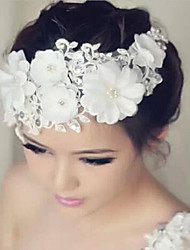 cheap -Lace / Rhinestone Flowers with 1 Wedding / Special Occasion Headpiece