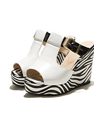 cheap -Women's Shoes Wedge Heel Peep Toe Sandals Dress Shoes More Colors available