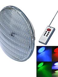 baratos -jiawen® PAR56 40W RGB levou luz subaquática (1xled luz subaquática + controlador 1xremote (bateria não incluindo)) (ac 12 v)