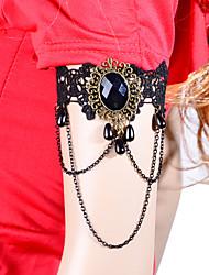 vintage lolita perle kvast kæde armbånd klassisk feminin stil