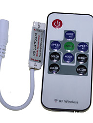 2M 120x5050 SMD RGB LED 15W Light LED Strip Lamp + 10-Key RF Controller (DC 12V)